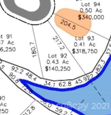 Lot 92 Edgewater Drive #92, Norwood, NC 28128 (#3798393) :: High Vistas Realty
