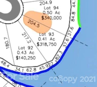 Lot 93 Edgewater Drive #93, Norwood, NC 28128 (#3798396) :: High Vistas Realty