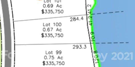 Lot 100 Edgewater Drive #100, Norwood, NC 28128 (#3798427) :: High Vistas Realty