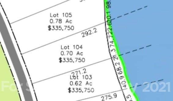 Lot 104 Edgewater Drive #104, Norwood, NC 28128 (#3798436) :: The Petree Team