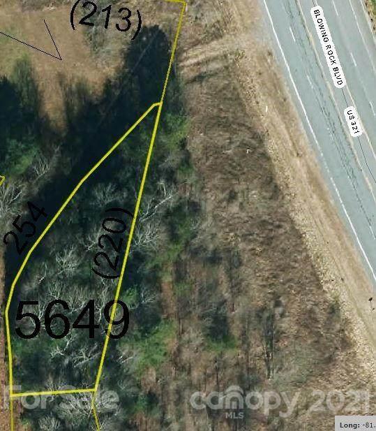 0 Blowing Rock Boulevard, Lenoir, NC 28645 (#3799106) :: DK Professionals