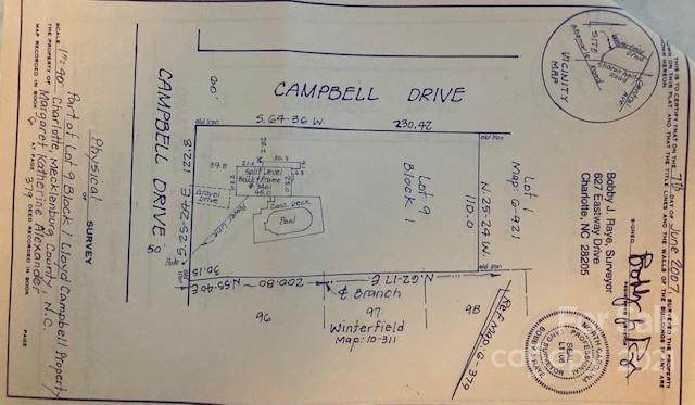 3404 Campbell Drive, Charlotte, NC 28205 (#3799768) :: MartinGroup Properties