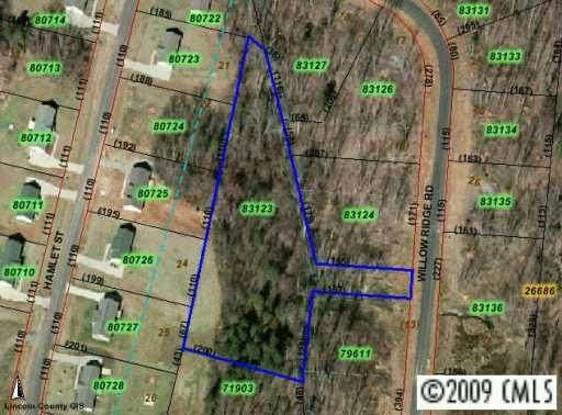 LOT 14 Willow Ridge Road, Lincolnton, NC 28092 (#469555) :: Carolina Real Estate Experts