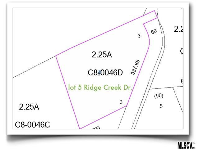 Lot 5 Ridge Creek Drive, Taylorsville, NC 28681 (#9580577) :: Rinehart Realty
