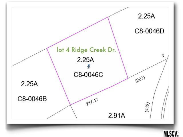 Lot 4 Ridge Creek Drive, Taylorsville, NC 28681 (#9580578) :: Rinehart Realty