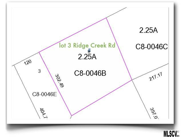 Lot 3 Ridge Creek Drive, Taylorsville, NC 28681 (#9580579) :: Rinehart Realty