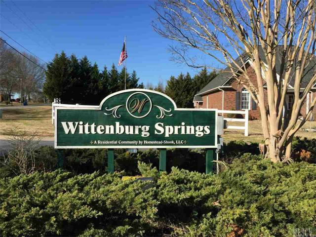 Lot 19 Wittenburg Springs Drive #019, Taylorsville, NC 28681 (#9580875) :: Lake Wylie Realty