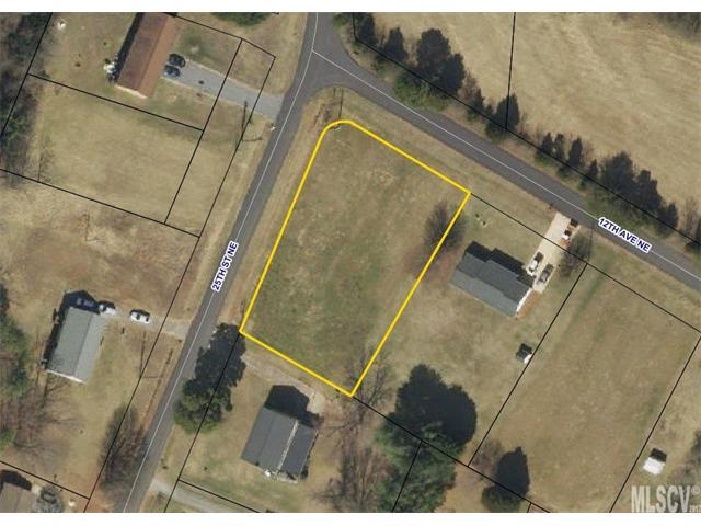 Lot 7 12TH Avenue NE #7, Hickory, NC 28601 (#9592647) :: Century 21 First Choice