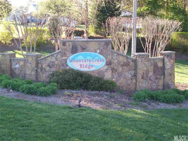 3142 Mountain Creek Drive #38, Sherrills Ford, NC 28673 (#9592665) :: Besecker Homes Team