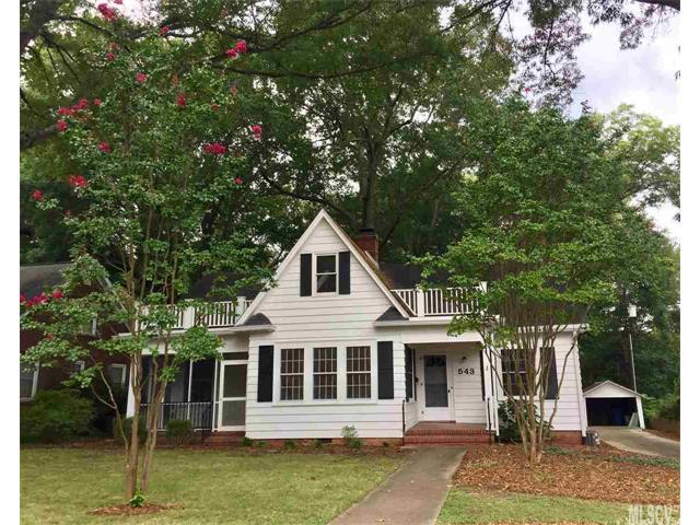 543 7TH Street NW, Hickory, NC 28601 (#9595501) :: LePage Johnson Realty Group, LLC