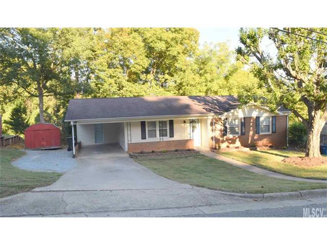 1214 11TH Street NW, Hickory, NC 28601 (#9596238) :: Stephen Cooley Real Estate Group