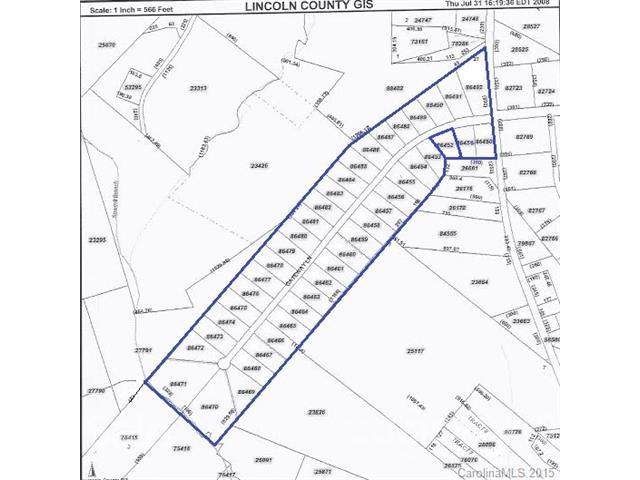 Lot 11 Gateway Lane, Lincolnton, NC 28092 (#3071503) :: The Ordan Reider Group at Allen Tate