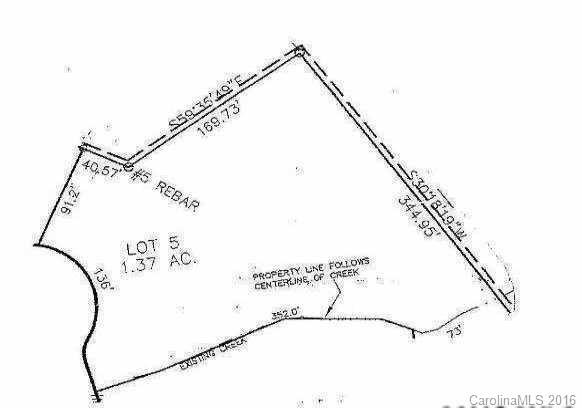 Lot 5 Kirkman Court #5, Troutman, NC 28166 (#3199302) :: Odell Realty