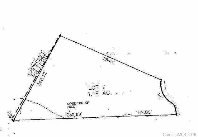 Lot 7 Kirkman Court, Troutman, NC 28166 (#3199324) :: Odell Realty