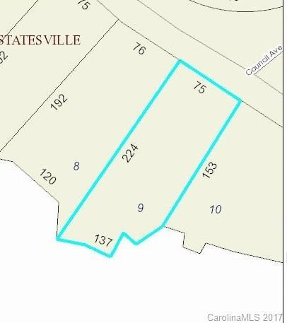 Lot 9 Beauty Street Lot 9, Statesville, NC 28625 (#3288211) :: Zanthia Hastings Team