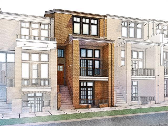 2821 N Brevard Street Unit 12, Charlotte, NC 28205 (#3323281) :: Pridemore Properties