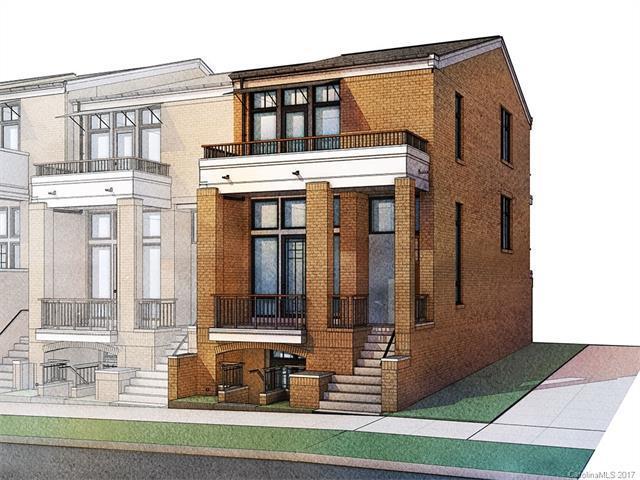 2833 N Brevard Street Unit 15, Charlotte, NC 28205 (#3323286) :: Pridemore Properties