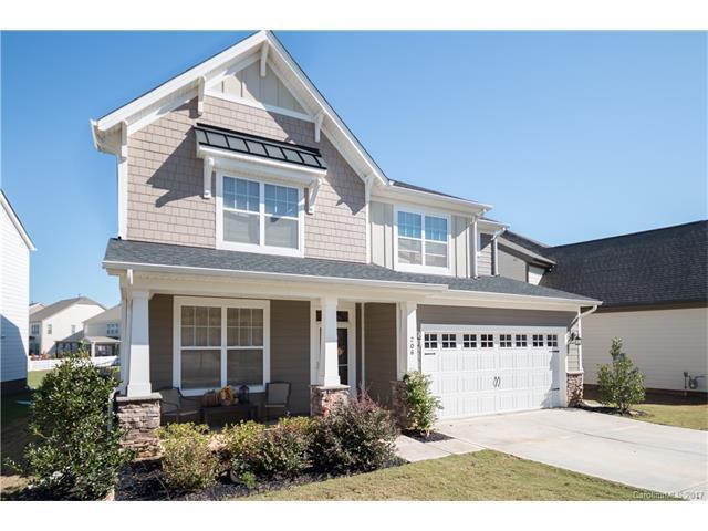 206 Blossom Ridge Drive, Mooresville, NC 28117 (#3332094) :: Besecker Homes Team