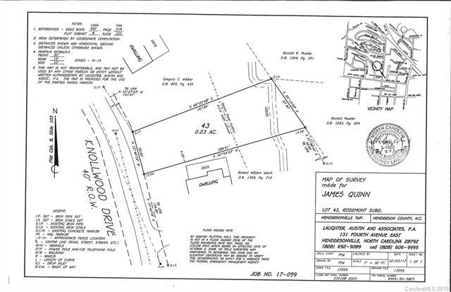 LOT 48 Knollwood Drive, Hendersonville, NC 28791 (#3348484) :: Charlotte Home Experts