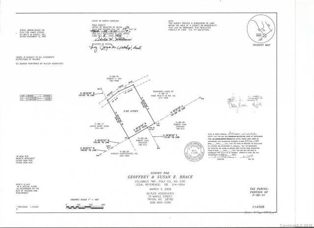 #6 Hooper Creek Road #6, Columbus, NC 28722 (#3352461) :: Puffer Properties