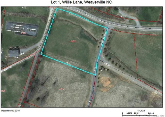 Lot 1 Willie Lane, Weaverville, NC 28787 (#3355599) :: Rinehart Realty