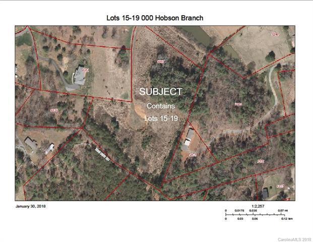 Lots 17, 18 & 19 Hobson Branch, Weaverville, NC 28787 (#3355681) :: Rinehart Realty