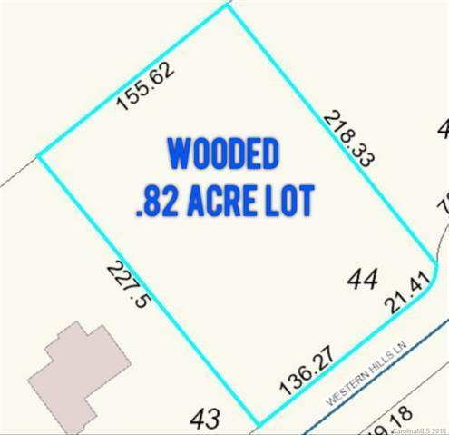 Lot 44 Western Hills Lane, Vale, NC 28168 (#3369357) :: LePage Johnson Realty Group, LLC