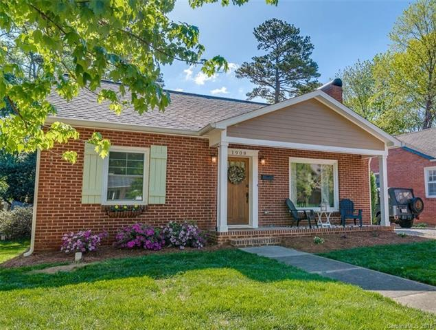 1908 Club Road, Charlotte, NC 28205 (#3382408) :: Homes Charlotte