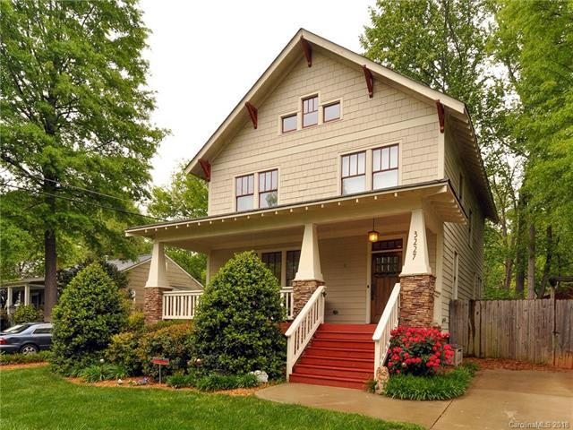 3227 Barnhill Drive, Charlotte, NC 28205 (#3384614) :: Charlotte's Finest Properties