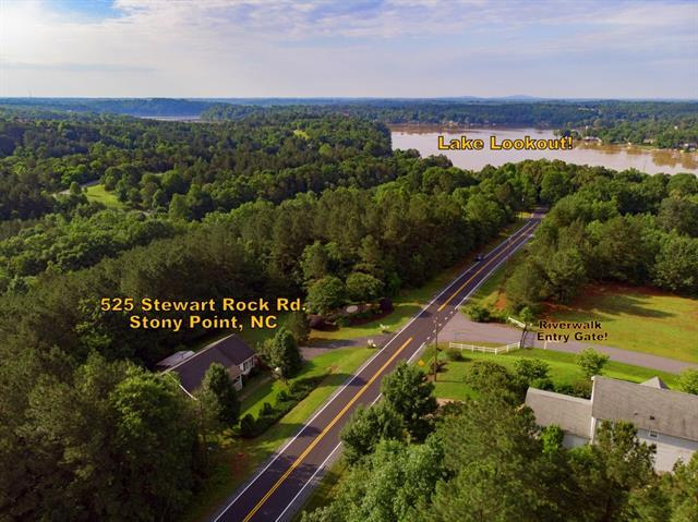 525 Stewart Rock Road, Stony Point, NC 28678 (#3394381) :: Odell Realty Group