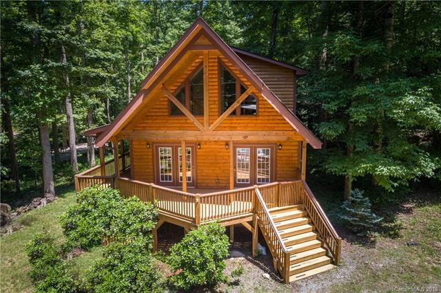447 Spring Lake Road, Maggie Valley, NC 28751 (#3399239) :: LePage Johnson Realty Group, LLC