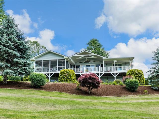 100 S Fork Road, Waynesville, NC 28785 (#3404355) :: Exit Mountain Realty