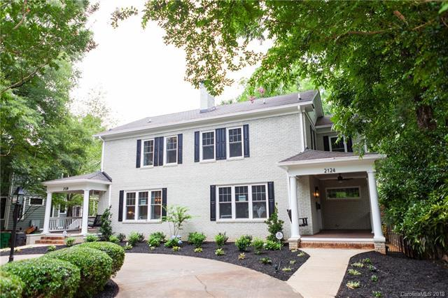 2124 Greenway Avenue, Charlotte, NC 28204 (#3415079) :: Caulder Realty and Land Co.