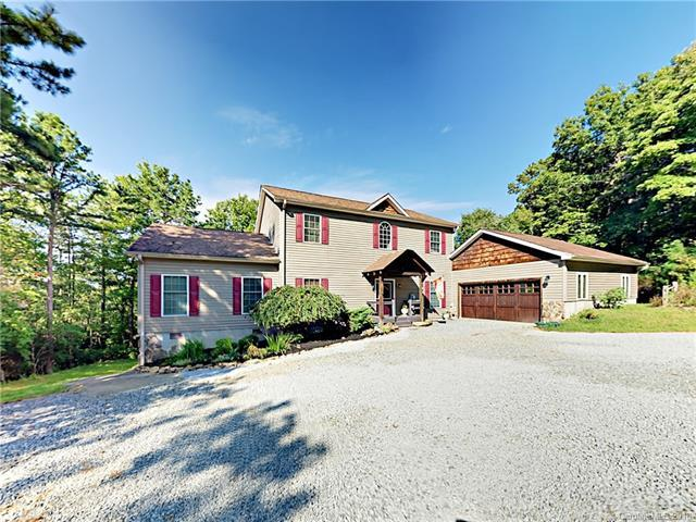 299 Lookout Drive, Pisgah Forest, NC 28768 (#3428537) :: Puffer Properties