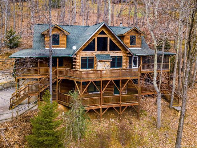 518 Greenview Drive, Maggie Valley, NC 28751 (#3453503) :: Rinehart Realty
