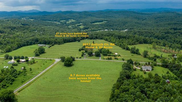 0 Antioch Church Road, Taylorsville, NC 28681 (#3510211) :: Rinehart Realty
