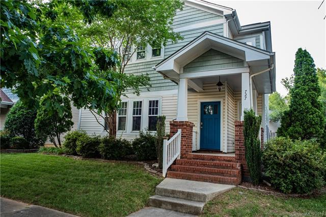 727 Parkside Terrace Lane, Charlotte, NC 28202 (#3510481) :: LePage Johnson Realty Group, LLC