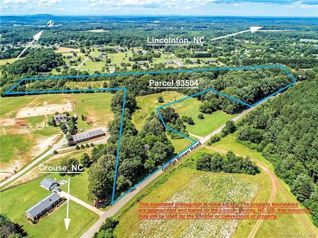 00 George Brown Road, Crouse, NC 28033 (#3516306) :: Exit Realty Vistas