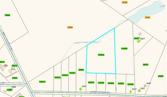 Lot 1 Christopher Road #1, Iron Station, NC 28080 (#3541222) :: Carlyle Properties