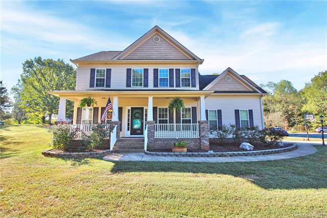 4314 Pioneer Court, Mint Hill, NC 28227 (#3557489) :: Odell Realty