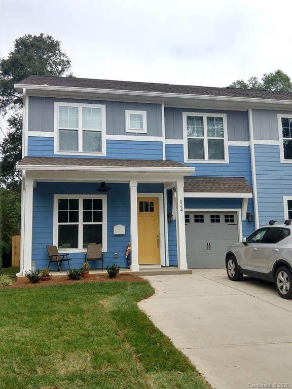 1704 Grace Street, Charlotte, NC 28205 (#3633590) :: Austin Barnett Realty, LLC