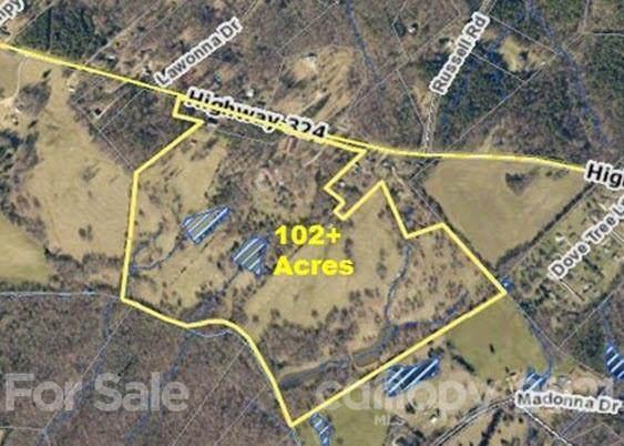 3805 Hwy 324 Highway 102 Acres, Rock Hill, SC 29730 (#3700579) :: Carmen Miller Group