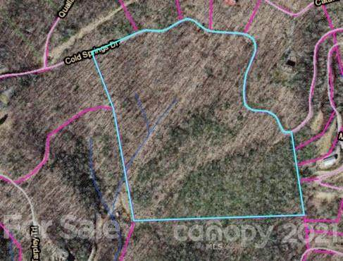 LOT 119 Cold Springs Drive #119, Maggie Valley, NC 28751 (#3793223) :: High Vistas Realty