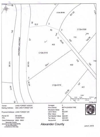 Lot 403 Lake Forest Drive #403, Taylorsville, NC 28681 (#9582751) :: Century 21 First Choice