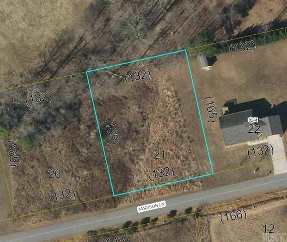 Lot 21 Madison Lane #21, Hickory, NC 28602 (#9589840) :: Miller Realty Group