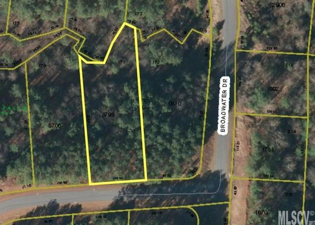 Lot 171 Broadwater Drive #171, Granite Falls, NC 28630 (#9596184) :: The Temple Team