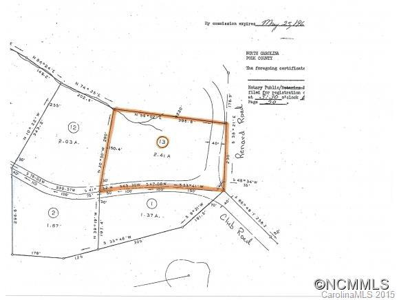 Lot 13 Club Road, Tryon, NC 28782 (#NCM594571) :: LePage Johnson Realty Group, LLC