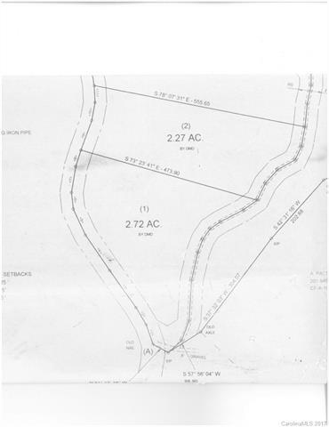 Lot 2 Cedar Creek Road #2, Saluda, NC 28773 (#3254745) :: Rinehart Realty