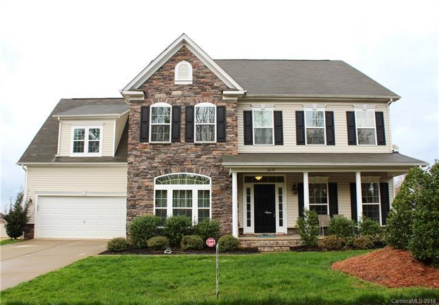 2639 Jameson Drive NW, Concord, NC 28027 (#3365026) :: Team Honeycutt