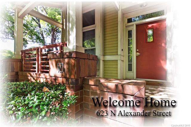 623 N Alexander Street, Charlotte, NC 28202 (#3444069) :: RE/MAX Four Seasons Realty